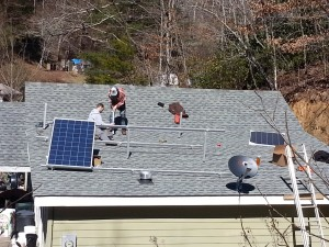 Solar Photovoltaic (PV) systems building