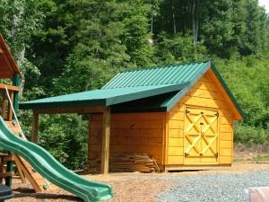 boone nc wood shed